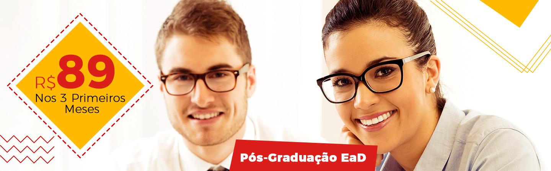 Banner Pós-Graduação 89 nos 3 Primeiros Meses
