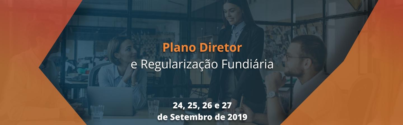 Banner Plano Diretor e Regularização Fundiária