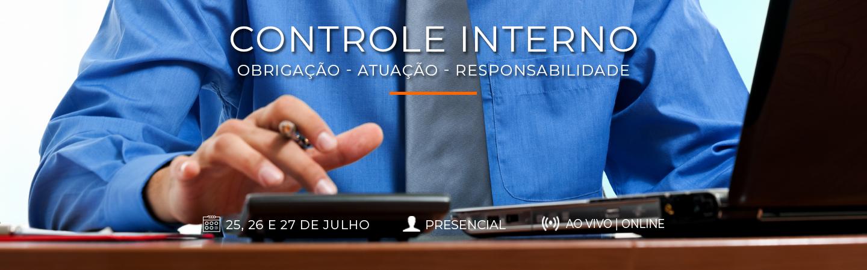 Banner Controle Interno Obrigação - Atuação - Responsabilidade