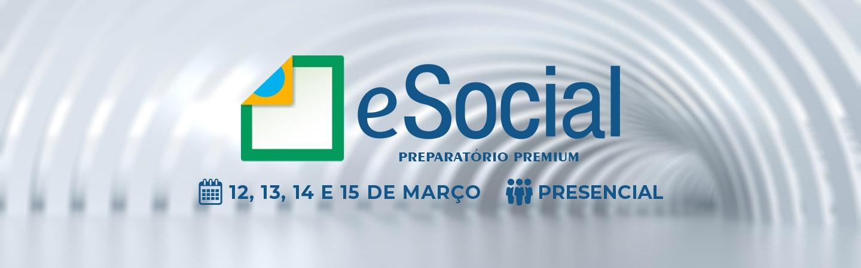 Banner eSocial Preparatório Premium