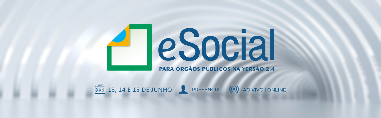 Banner eSocial para Órgãos Públicos Na Versão 2.4