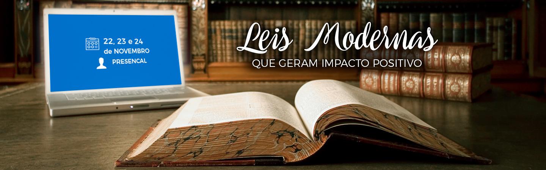 Banner Leis Modernas  Que Geram Impacto Positivo
