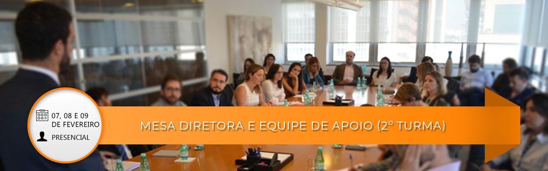 Banner Mesa Diretora e Equipe de Apoio (2º turma) Preparação para 2018