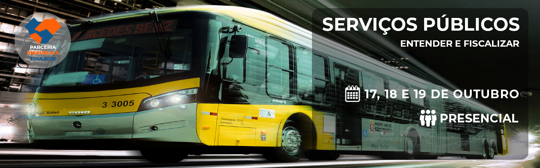 Banner Serviços Públicos Entender e Fiscalizar